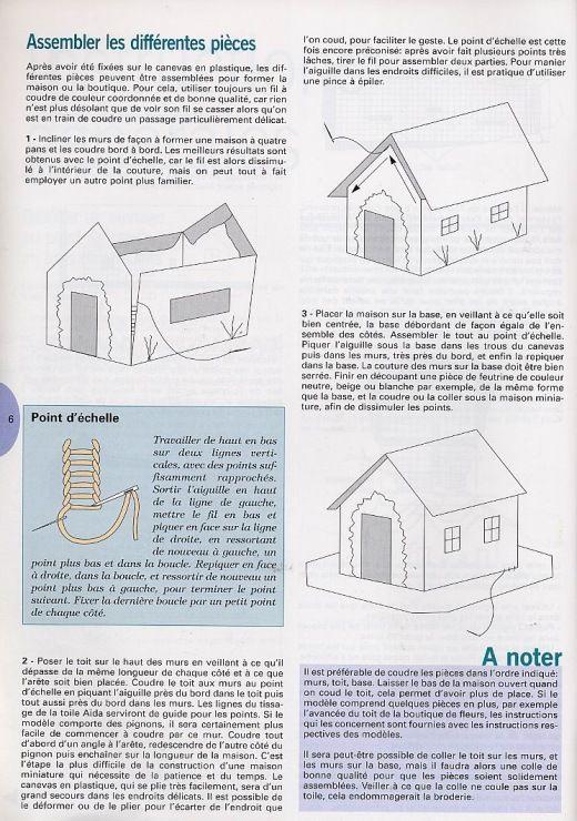 Galleryru / Фото #1 - 3-D Cross Stitch-More Than 25 Original - exemple maison sweet home 3d