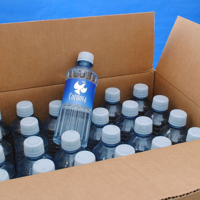 Custom bottled water for Cordova Church. #church #bottledwater #worship