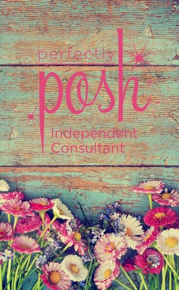 ThePoshLifePNW.po.sh Floral Spring graphic for Perfectly Posh Consultant |  ThePoshLifePNW.po.sh