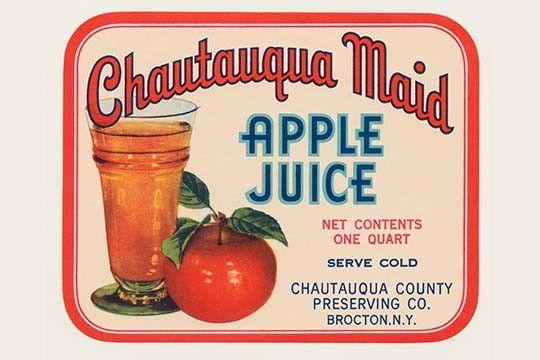 Cahutauqua Maid Apple Juice