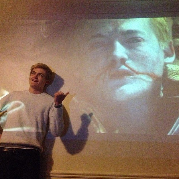 "This Photo Of Jack Gleeson Reacting To The Newest ""Game Of Thrones"" Episode Is Perfect"