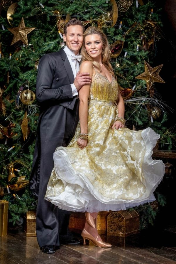 Strictly Come Dancing Christmas 2015. Abbey Clancy and Brendan Cole