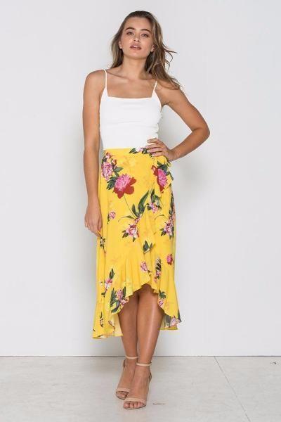 Fresh Soul - Alicante Wrap Skirt