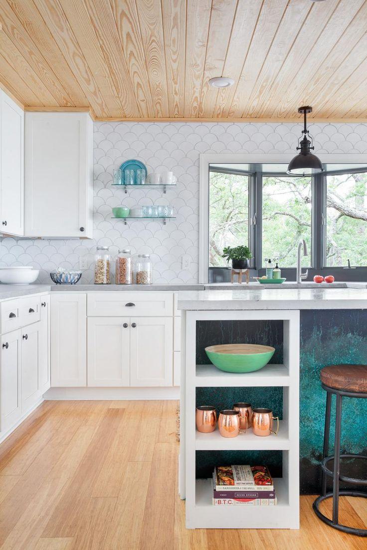 52 best New Tile Shapes/Ideas images on Pinterest   Cabin kitchens ...
