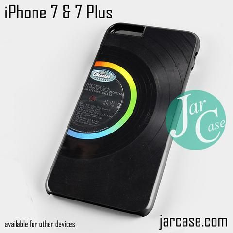 vinyl record Phone case for iPhone 7 and 7 Plus