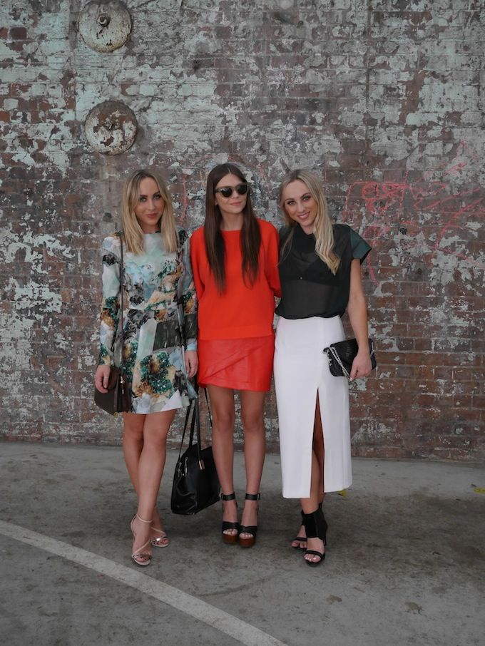 Day 3 MBFWA - with the lovely twins from When Words Fail // Spin Dizzy Fall