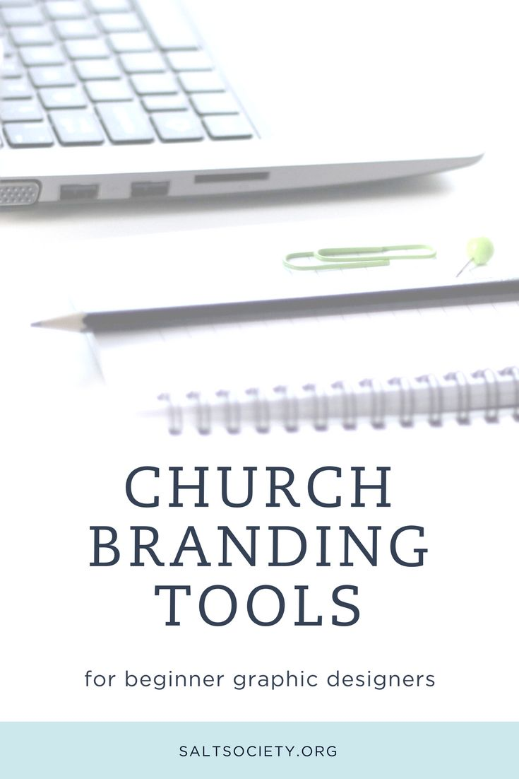 8 Church branding tools for beginner graphic designers Looking for free tools that will help you achieve your graphic design projects quickly and beautifully, I?ve listed the cream-of-the-crop below. These are specifically for beginner designers on shoestring budgets. If that sounds like your thing, check them out here!