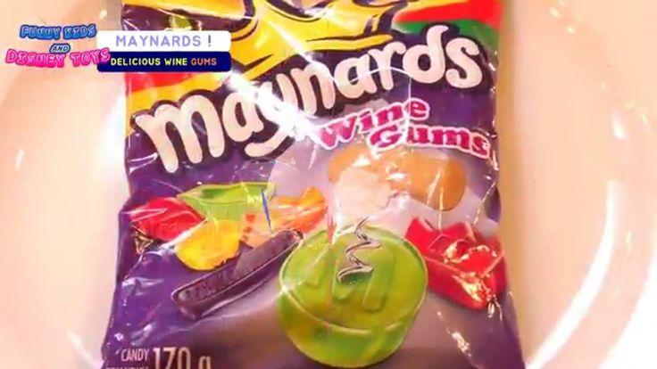 미국 와인맛 젤리 2탄!Maynard Juicy Wine Gummy Ultimate Counting with Cup by Pooh...