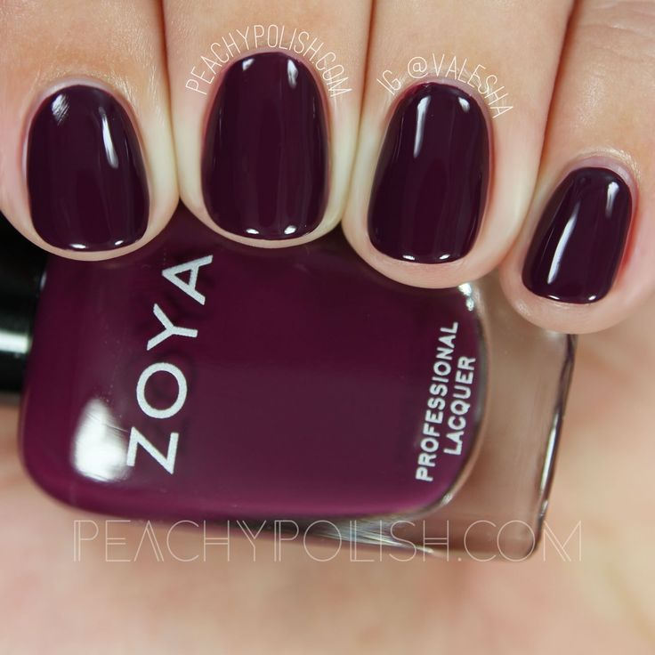Zoya Tara | Fall 2016 Urban Grunge Collection | Peachy Polish #purple