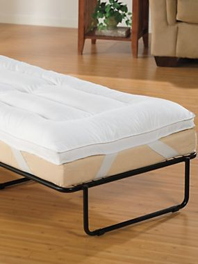 Ottoman Bed Pillow Top Mattress Pad Comfy Topper These Are 32 X 76 And Fit The Travato K Twin