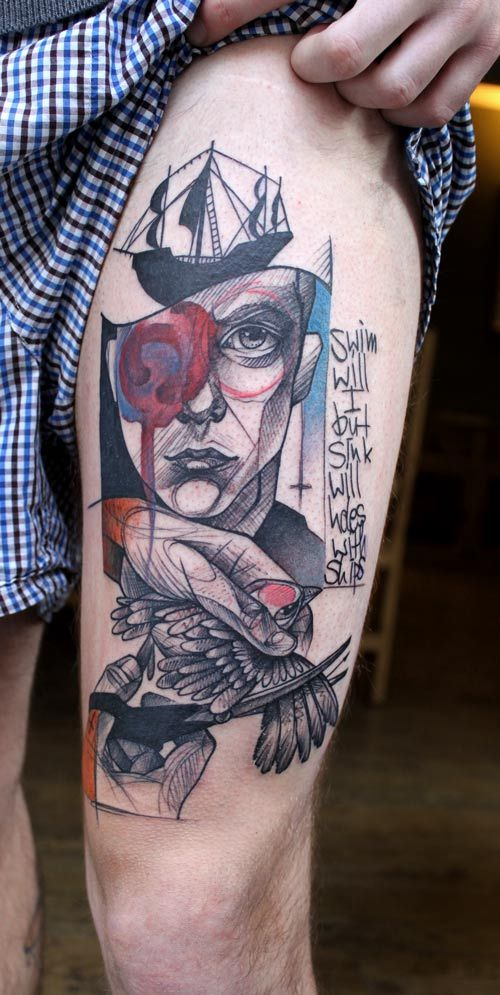 tattoos by Peter Aurisch: Peter O'Toole, Peter Aurisch, Tattoos, Tattoo Inspiration, Body Art, Tattoo'S, Geometric Tattoo, Ink