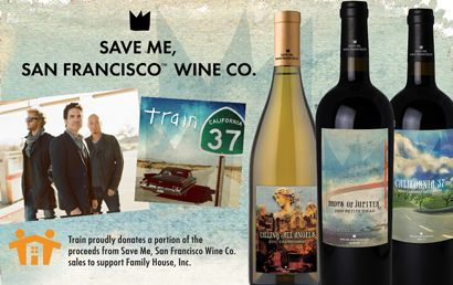 Save Me, San Francisco Wine Co. proudly donates proceeds from its sales to support Family House, Inc., a non-profit organization providing temporary housing to families of seriously ill children receiving treatment at the University of California San Francisco Benioff Children's Hospital.   http://familyhouseinc.orgChildren Hospitals, Wine, Children Receiving, Rocks Band, House, Families, California San, Donation Proceed, Band Training