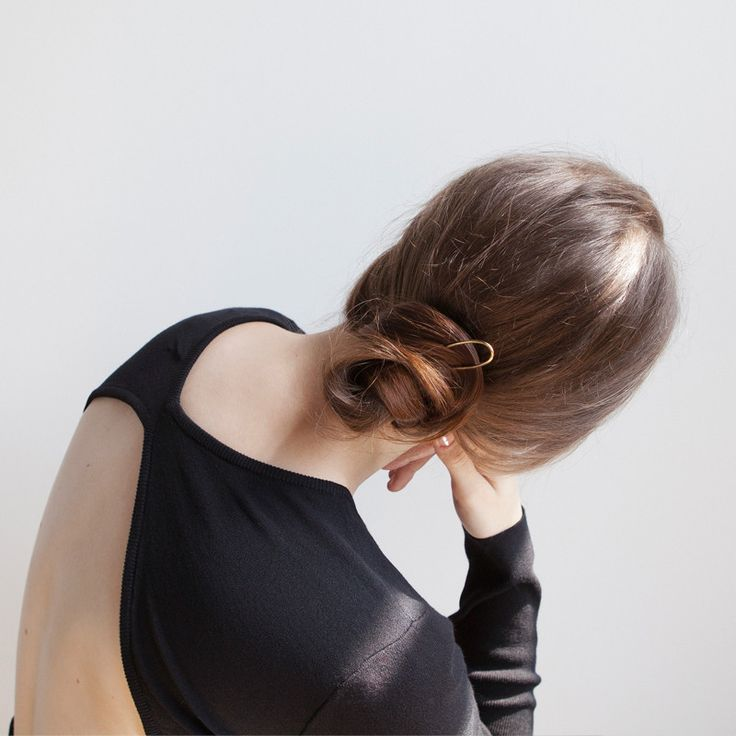 MELODY Brass Hairpin / PAUZE atelier