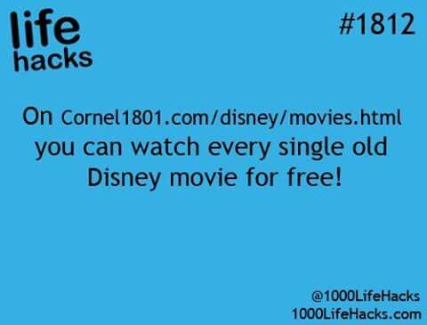 Disney movies for free.