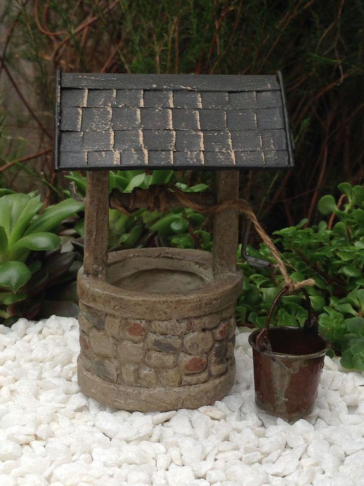 Gnome Garden: 17 Best Ideas About Fairy Garden Furniture On Pinterest