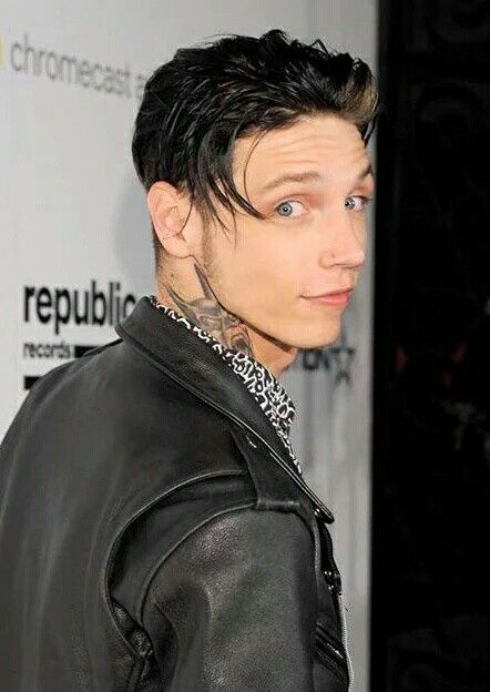 Andy Biersack at the Republic Records Grammies party in Hollywood