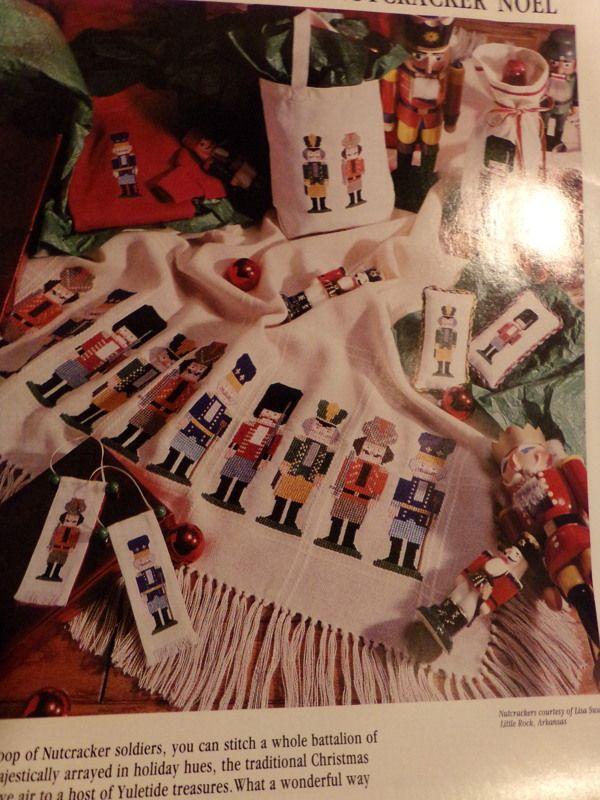 A Nutcracker Noel and A Mothers Bulletin Board cross stitch pattern