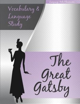 the great gatsby syntax and diction Free essay: in the novel the great gatsby, fitzgerald uses tone, diction, syntax  and imagery to voice nick's perception of the world around him in this.