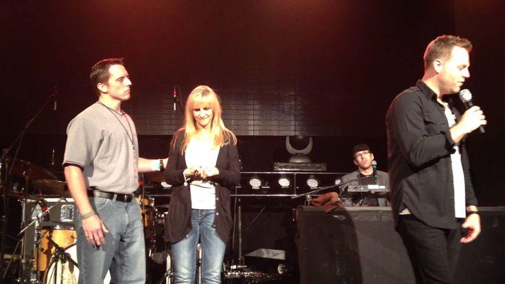 "Matthew West- ""Forgiveness"" Story LIVE with Surprise Guest Renee & Eric- Bradenton, FL 10-24-12"