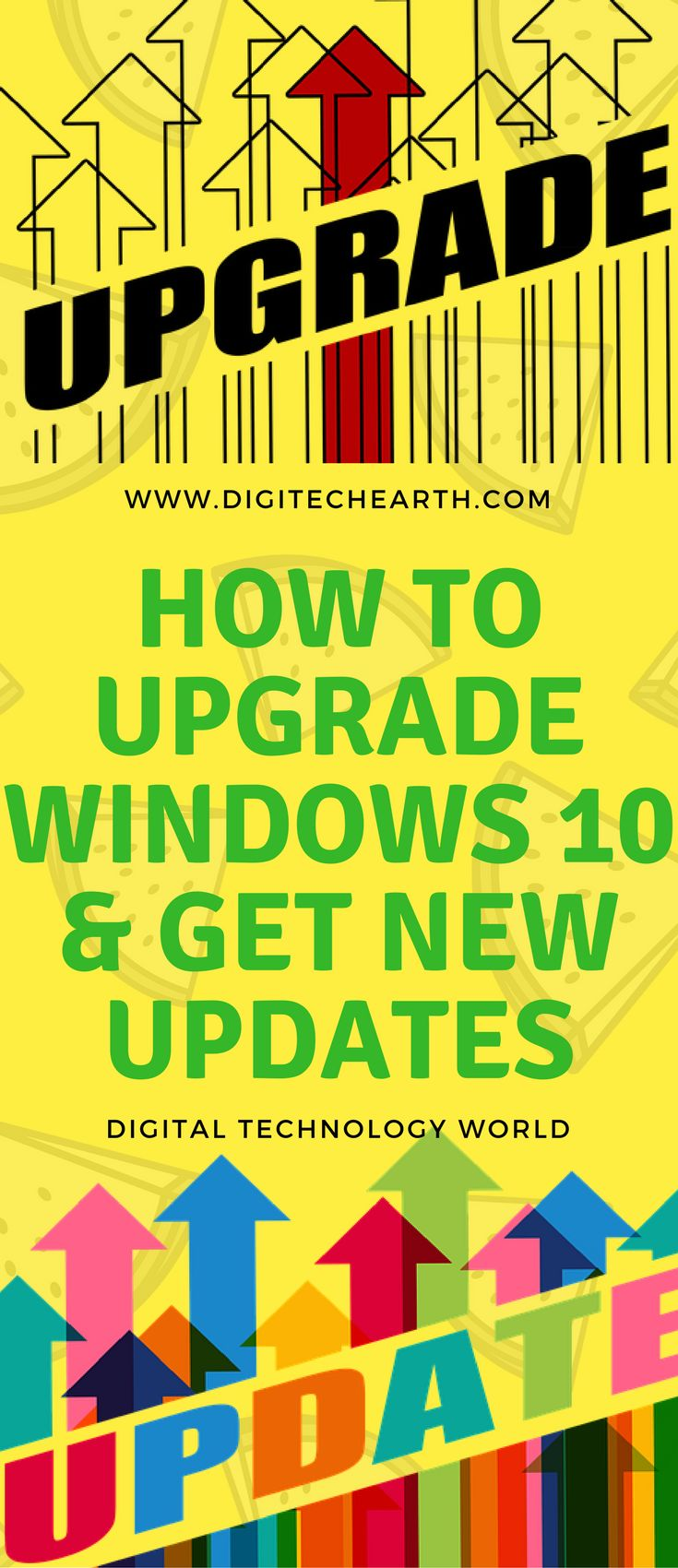 While announcing Microsoft's launch of Windows 10, Microsoft had made it clear that Windows users could upgrade this for Free up to July 29 2016, but many users missed this opportunity. But don't worry! It is possible to upgrade it free for the windows 7 and windows 8.1 users. The only requirement is that your windows versions should be original and no any file should be opened while upgrade process is going on.In this article we will talk aboutHow to Upgrade Windows 10 & Get New Updates