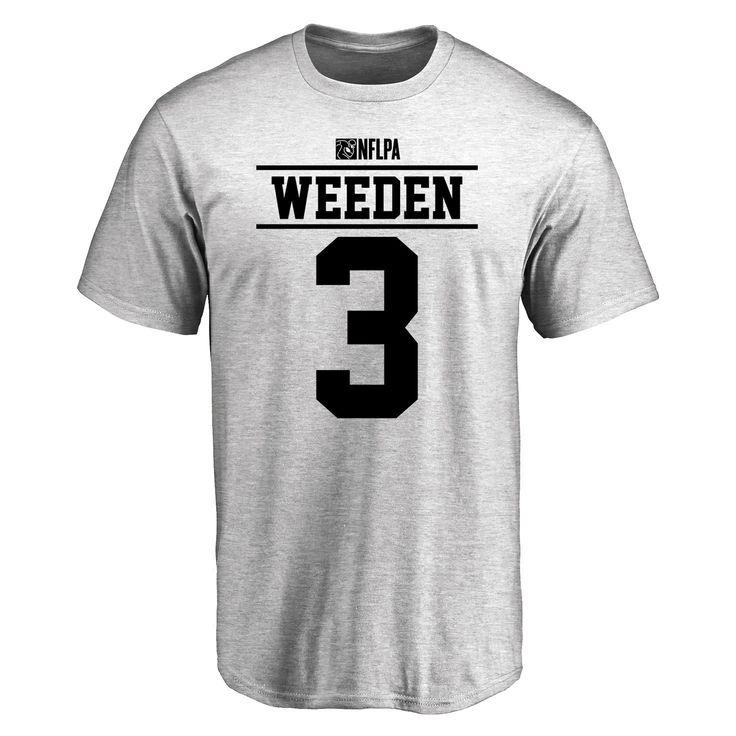 Brandon Weeden Player Issued T-Shirt - Ash - $25.95