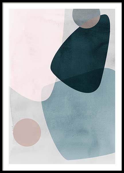 Posters met kunstprint   Prints en art prints met abstracte kunst   Desenio.nl