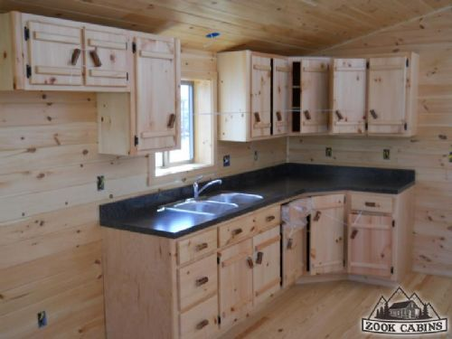 Best 20 small cabin kitchens ideas on pinterest for Small log home kitchens
