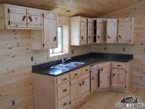 small cabin kitchens cabin ideas pinterest. Black Bedroom Furniture Sets. Home Design Ideas