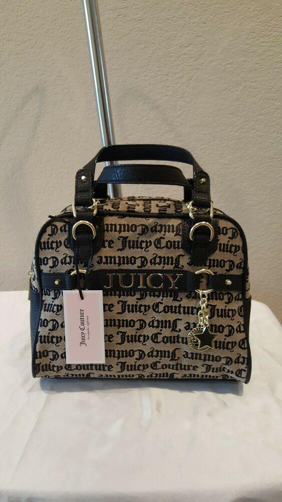 1ea1eea26 Juicy Couture Satchel Sweet Surrender Dome Black Beige Medallion  11JQA28JS-BBK #fashion #clothing #shoes #accessories #womensbagshandbags  (ebay link)