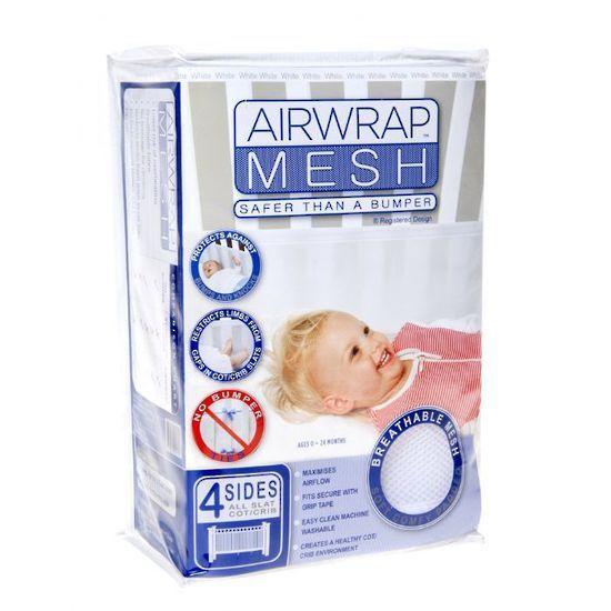 Airwrap Mesh Bumper - White (4 sides) – Dimples