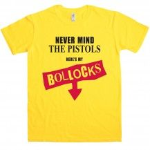 Heres my Bollocks t-shirt