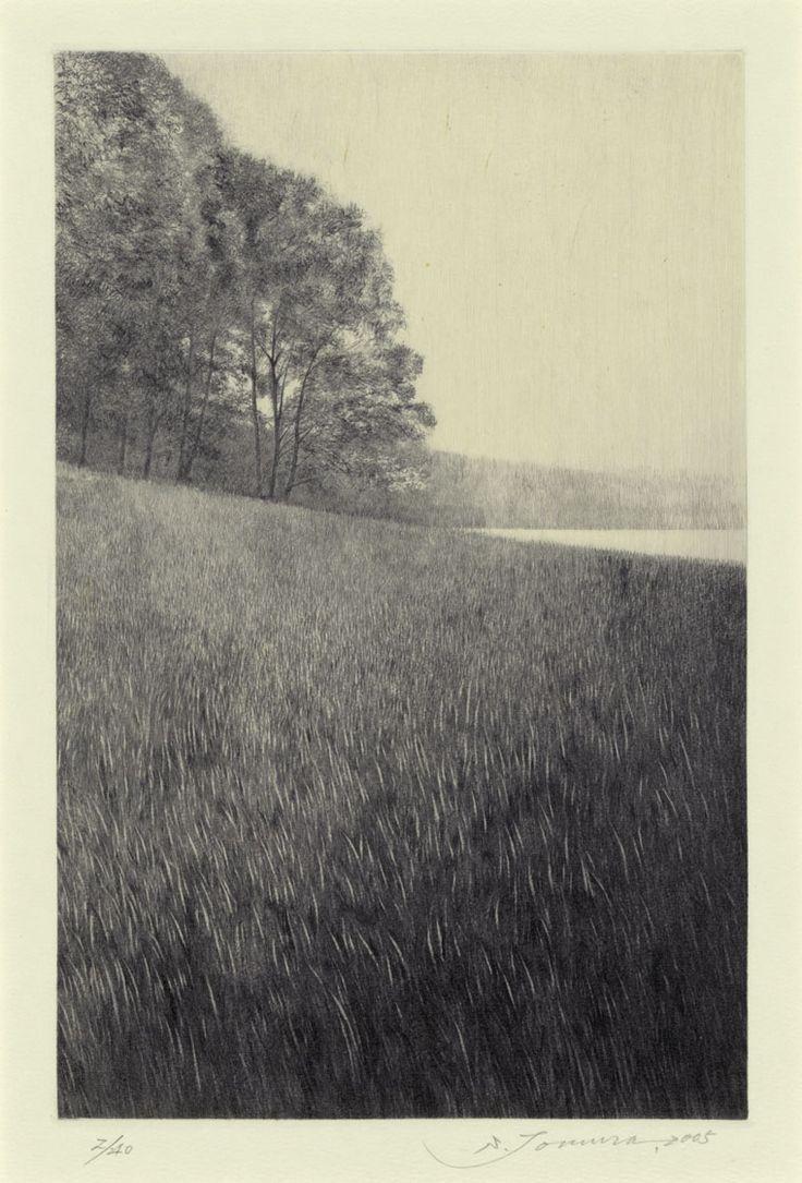 Shigeki Tomura, Dewy Morning, 2005, etching/drypoint
