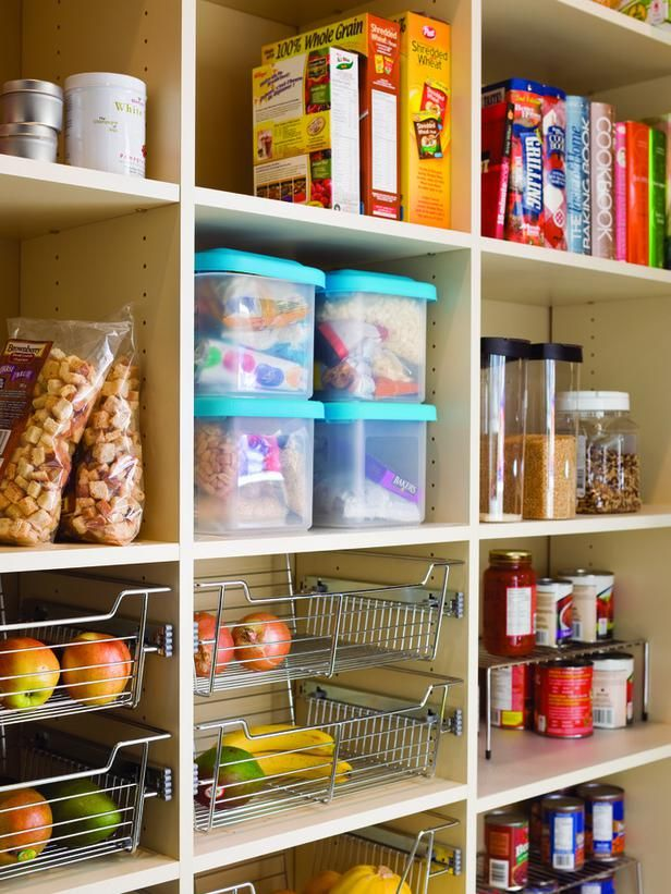 fruit basket drawers---Pantry Options and Ideas for Efficient Kitchen Storage : Kitchen Remodeling : HGTV Remodels