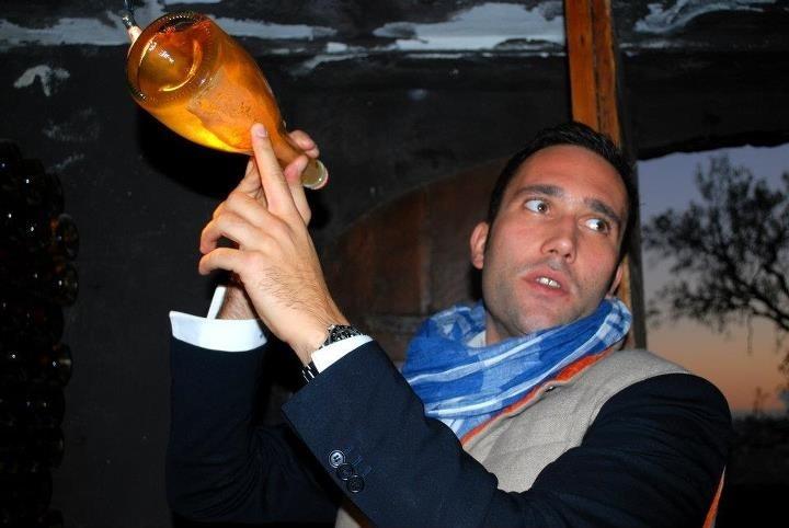 Benedetto Baracchi with brut from Trebbiano