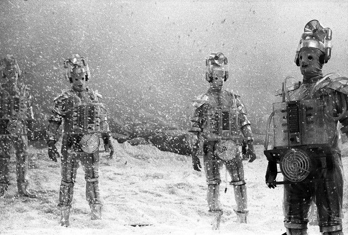 Cybermen from 'The Tenth Planet' (1966)