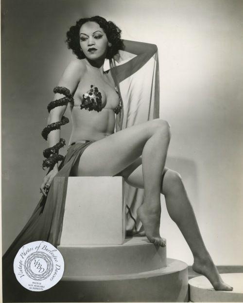 Burlesque Fotografie Vintage Frau