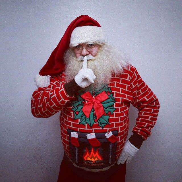 Turns out Santa is a fan of Cheesy Christmas Jumpers #christmas #sweaters #jumpers #ap... | Use Instagram online! Websta is the Best Instagram Web Viewer!