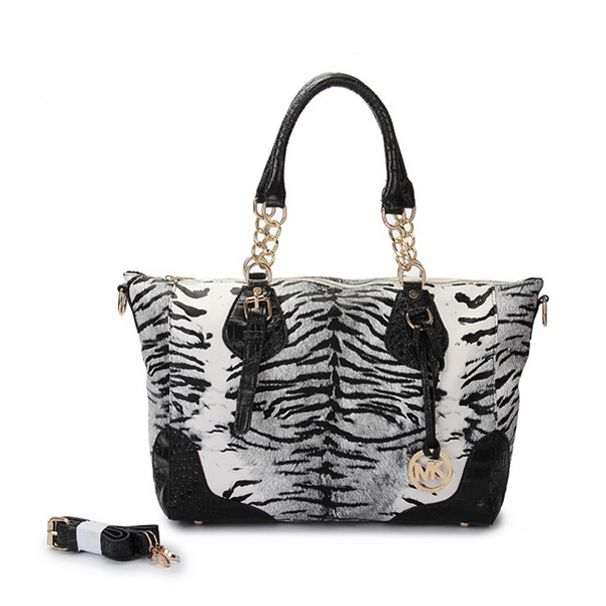 Michael Kors Zebra Chain Large Grey Tote [MK0000000336] - $55.99 : Michael  Kors Outlet