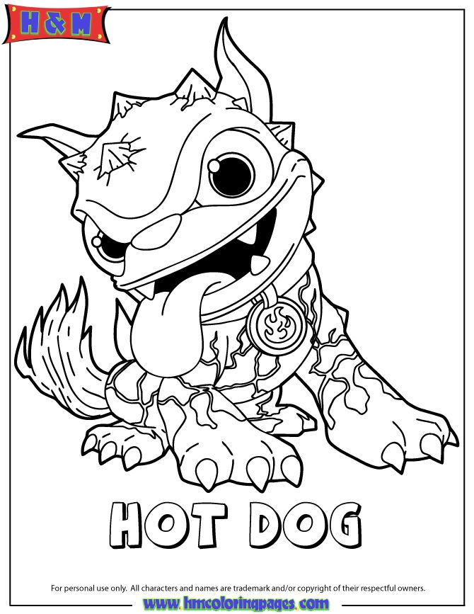 chaos skylanders coloring pages - photo#18