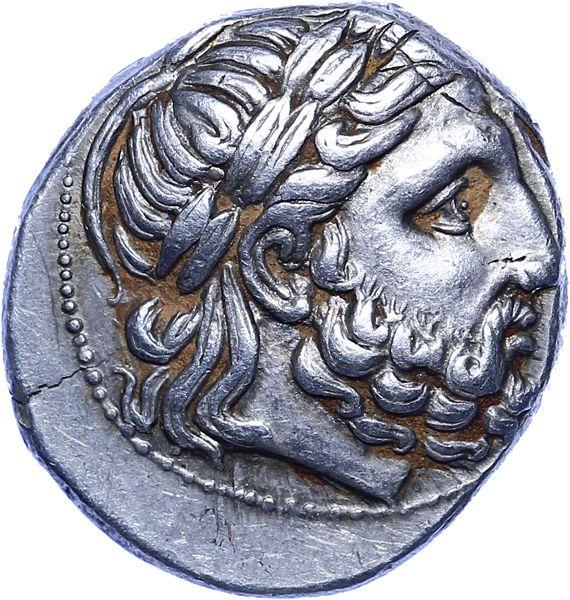 Greece - Kings of Macedon, Tetradrachm., Philippus II (359-336 BC)   Coins.ee…