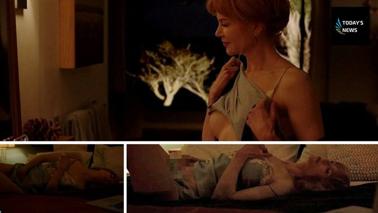 Nicole Kidman strips down for gritty sex scene with on screen husband Al...