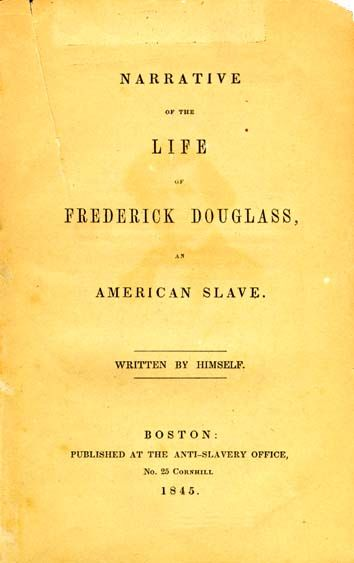 Life of Frederick Douglas - An american slave - life changing - my boys MUST read  when the are old enough