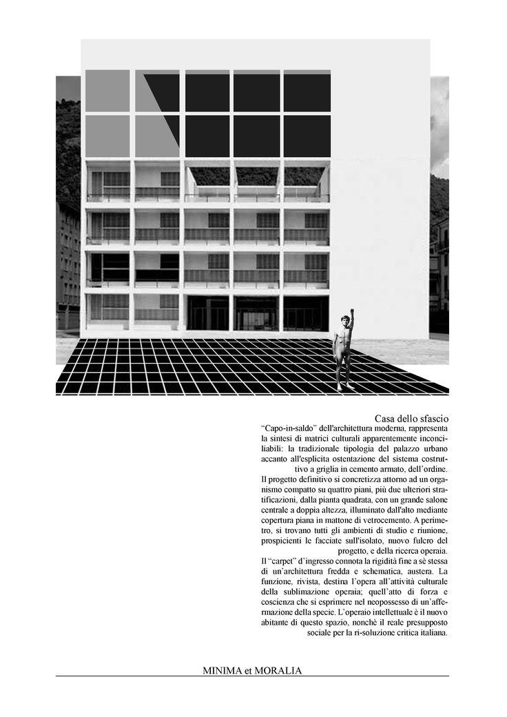 """""""minima et moralia"""" 002 - by Carlalberto Amadori architecture collage on contemporary urban issue"""