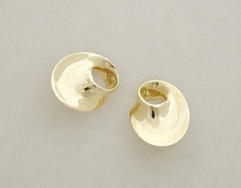 Georg Jensen gold earrings