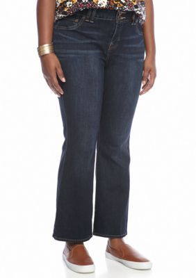 Lucky Brand Women's Plus Size Boot Pants - Grissom - 16Wp