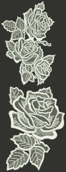 Advanced Embroidery Designs - Rose Lace Set