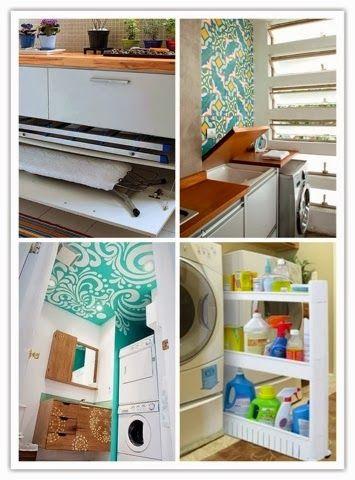 Ideias para lavanderias pequenas ~ ARQUITETANDO IDEIAS