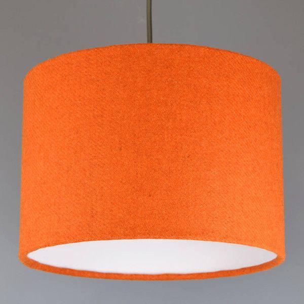 Best 25+ Orange lamp shade ideas on Pinterest   Orange floor lamps ...