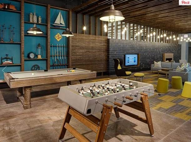 19 Best Office Recreation Amp Game Rooms Images On Pinterest