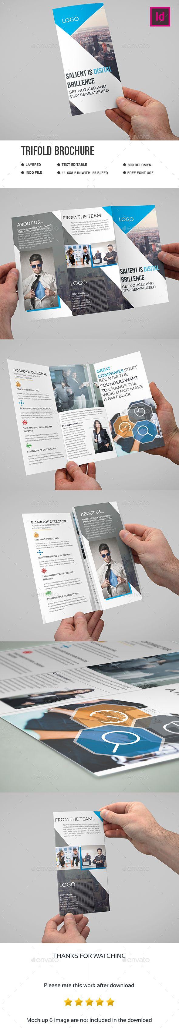 Corporate Trifold Brochure by Dlarastudio